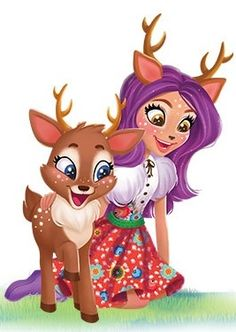 Danessa Deer is a and all-around character. In English, Danessa Deer is voiced by Diana Kaarina. In Enchantimals: Tales From Everwilde, she is voiced by Tara Sands. In Latin American Spanish, Danessa Deer is voiced by Lourdes Arruti. Cute Animal Drawings, Cute Drawings, Ever After High, Monster High, Deer Ears, Cute Christmas Wallpaper, Beautiful Flowers Wallpapers, Princess Drawings, Lol Dolls