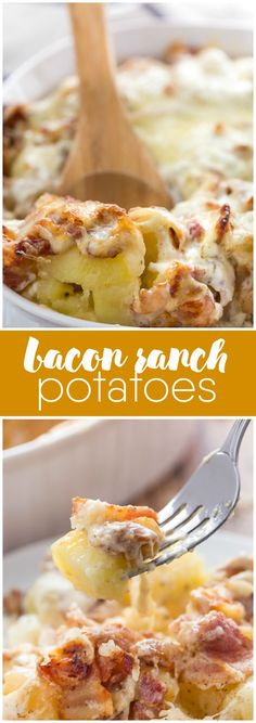 Bacon Ranch Potatoes