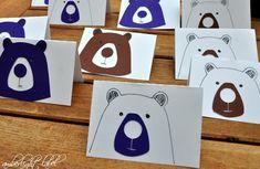 5. Geburtstag Bären Tischkärtchen All Things Cute, Teddy Bears, Party, Crafting, Birthday Celebrations, Kids, Parties
