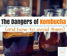 There are some risks and dangers associated with Kombucha, both in brewing and drinking it - from mold, to pests, to toxicity issues. . Find out how to reduce these risks