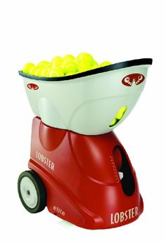 The Lobster Sports Elite 1 portable tennis ball machine is a great battery operated tennis ball machine for fun and practice within affordable price. Tennis Games, Le Tennis, Sport Tennis, Tennis Gear, Racquet Sports, Tennis Racket, Battery Operated, The Help, Improve Yourself