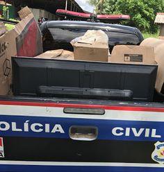 POLÍCIA DO PARÁ                                 Ao Alcance de Todos!: POLÍCIA CIVIL RECUPERA CARGA ROUBADA DURANTE ASSAL...