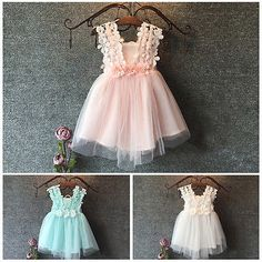 Floral Lace Pearl Tutu Dress- Available In 3 Colors – Katy's Princess Boutique Party Wear Dresses, Party Gowns, Wedding Dresses, Baby Girl Dresses, Baby Dress, Fancy Dress Material, Toddler Sewing Patterns, Mother Daughter Outfits, Baby Girl 1st Birthday