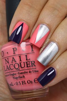 New Coca-Cola by OPI Collection Nail Art