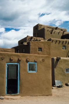 How to Build Pueblo Indians' Homes for Projects at School | eHow UK