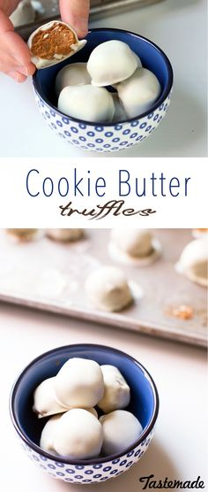 What's better than cookie butter? Cookie Butter Truffles. We all know truffles are amazing but they're also fast and easy to make!