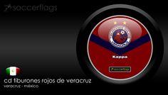 CD Tiburones Rojos de Veracruz - Veja mais Wallpapers e baixe de graça em nosso Blog. Visite-nos http://soccerflags.tumblr.com