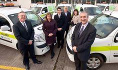 DAA Flies Into The Future With Electric Vans (Dec 2012) Electric Van, Dublin Airport, Vans, Airports, Irish, Awards, Social Media, Future, Green