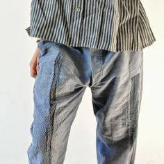 Vintage French workman's trousers