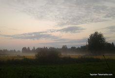 Morning on August (Pigeon hunting season start) sepelkyyhkyjahdin avaus 2013 Hunting Season, Pigeon, Scenery, About Me Blog, Seasons, Celestial, Sunset, Outdoor, Outdoors