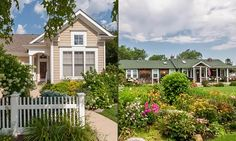 10 homes with spring curb appeal