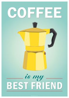 Art for home Instant Printable Download Coffee by whiteshoesandco