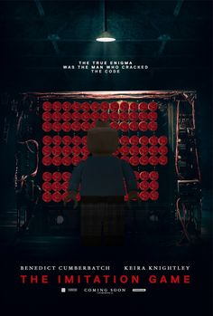 The LEGO Movie didn't get nominated for best animated feature. To make up for this baffling oversight, I added Lego to the best picture nominees. Lego Film, Lego Tv, Lego Movie, Movie Tv, The Imitation Game Movie, Best Picture Nominees, Van Lego, Lego People, Minimal Movie Posters