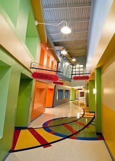 elementary school design with amazing storage - Google Search