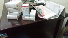 This is a round of drugs for living with the Hell that is Hidradenitis Suppurativa. Diseases are expensive.