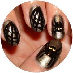 Halloween Nails Inspiration - www.yesmissy.com