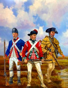 2nd South Carolina Regiment of Foot and the British 63rd Regiment of Foot