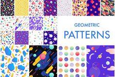 Seamless Geometric Patterns  by Antikwar on @creativemarket