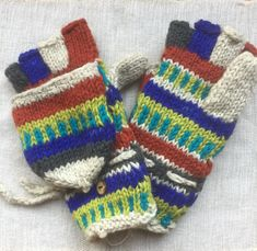 Nepal, Fingerless Gloves, Arm Warmers, Fingerless Mitts, Fingerless Mittens