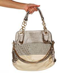 Silver Rhinestone Handbag