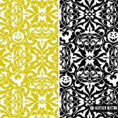 Gothique  © Heather Dutton | Hang Tight Studio #spoonflower