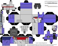 Cubee - Mega-Galvatron by CyberDrone.deviantart.com on @deviantART