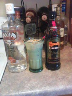 Caramel Machiatto White Russian 1 part smirnoff kissed caramel vodka 1 part kahlua especial Fill with milk or cream ENJOY!!!