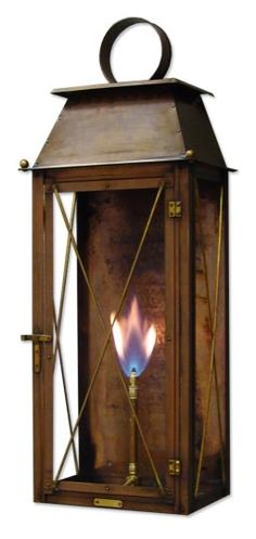 Coach House lantern from Bevolo.   Super nice company to work with and a short lead time!