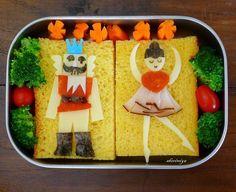 Christmas lunchtime creativity...