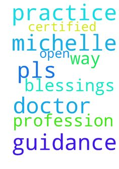 pray for guidance -  Lord Jesus, pls open the way for Michelle to practice her profession as a certified Doctor. Thank you Lord for all the blessings .Amen  Posted at: https://prayerrequest.com/t/nRT #pray #prayer #request #prayerrequest