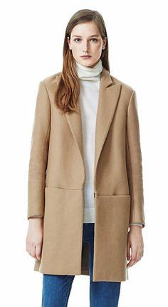 Women's Outerwear - Elibeth Roanoke Coat - Theory.com