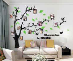 Los vinilos son de material acrílico de alta calidad. Su diseño proporciona un bonito efecto 3D en la pared. Es un regalo muy bonito para San Valentín que podrás montar con tu pareja o con toda la familia y crear vuestro auténtico y original árbol genealógico. #lagacetafriki #regalo #regalos #regalosoriginales #regalooriginal #original #regaloideal #regalosfrikis #detalles #friki #sanvalentin #amor #parejas #novios #novias #tequiero #decoracion #hogar