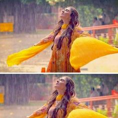 Uploaded by Faizaツ. Find images and videos about yellow, rain and aiza khan on We Heart It - the app to get lost in what you love. Beautiful Girl Photo, Cute Girl Photo, Beautiful Girl Indian, Girl Photo Poses, Girl Photography Poses, Girl Photos, Girls Dp Stylish, Stylish Girl Images, Asian Wedding Dress Pakistani