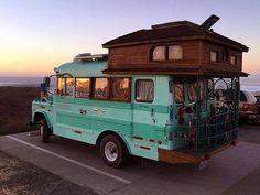 """815 Likes, 61 Comments - KOVEY (@kovey) on Instagram: """"Goals! #Pinterest # #adventuremobile #buslife #vanlife"""""""