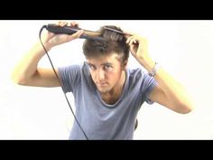 How to Straighten mens hair GHD products - Slikhaar TV 67 part 1/2