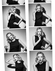 Blow-up  Photographer: Andrey Yakovlev  Art-director: Lili Aleeva  Models: Maria Kintsurashvili, Lyubov Nenilina  Make-up: Zhanna Bilalova  Hair Style: Oksana Zavarzina