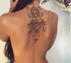 Image result for hindu back tattoos womans