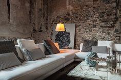 Zeitgenössische weißen sofa