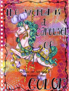Carousel Horse Digital Stamp by Rick1949, $3.00 USD