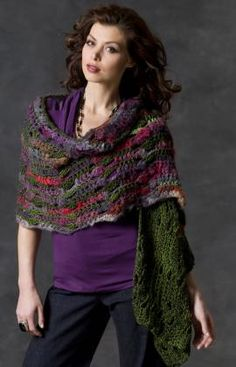Musical Shells Shawl -- LOVE this, and it says it's super easy!  This may be my next project after I finish my current one :)