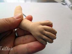 Создание армированной ручки для куклы. Часть 4 - Ярмарка Мастеров - ручная работа, handmade