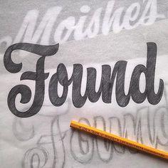 Working on new material for my @CooperType Found Lettering workshop in June. To register: http://coopertype.org/workshops/public_workshops?utm_content=bufferc82f9&utm_medium=social&utm_source=pinterest.com&utm_campaign=buffer#found_lettering …