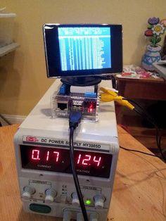 Cheap portable LCD for Raspberry Pi #raspberrypi