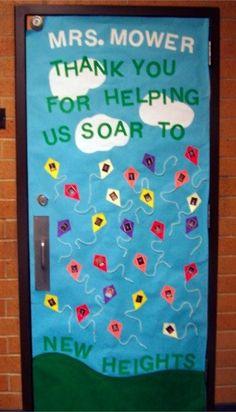 Ladybird Ln: Teacher Appreciation Door ideas!