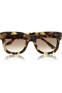 My Style… Tortoise Shell Glasses by Thierry Lasry