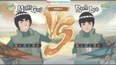 Naruto Shippuden Ultimate Ninja Storm 4 Matches / Battles / Fights Of Rock Lee