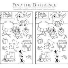 Find the Difference: Help the Elf!