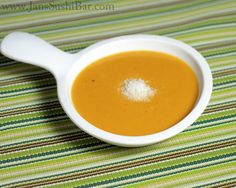 I adore Sweet Potatoes and can't wait to try this. // Sweet Potato-Coconut Soup. This is yummy! Like a hug in a bowl.