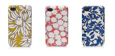 Patterned iphone cases from the queen of patterns: Diane von Furstenberg