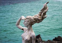 Escultura em Cayo Las Brujas
